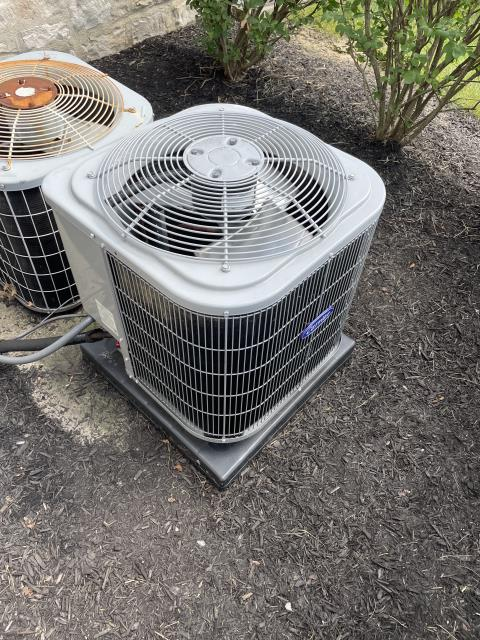 New Albany, OH - I completed a service call. Upon arrival customer stated AC unit was not cooling the home. After switching the CFM to 700 system is now cooling like it should.