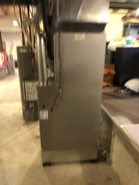 Pataskala, OH - I completed the scheduled maintenance agreement fall tune up on a Carrier gas furnace.  I visually inspected the unit. I also checked voltages, amps and pressures and completed combustion analysis. Finally, I cycled and monitored system. It is operating normally at this time.