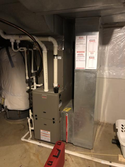 Westerville, OH - Upon arrival I went through tune-up checklist and confirmed that system is working within manufacturers specifications. The system heating properly upon departure.