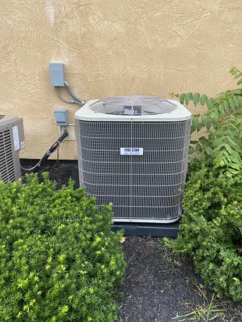Dublin, OH - I completed a half install on a Five Star 13 SEER 4 ton air conditioner. I cycled and monitored the system. System is operational at departure.