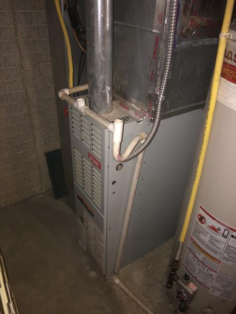 Columbus, OH - I completed a heating tune up on a Bryant gas furnace.  I visually inspected the unit and checked the voltages, amps and pressures.  I completed combustion analysis. I then cycled and monitored system.  It is operating normally at this time.