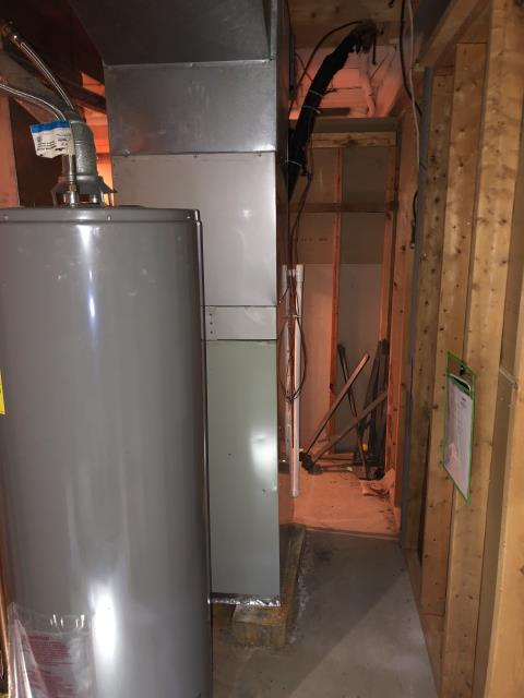 Pickerington, OH - Upon arrival i Completed a Half Install on a Carrier 80% Gas Furnace 58SB0 (Up to 100,000 BTU). The system is fully operational upon departure.