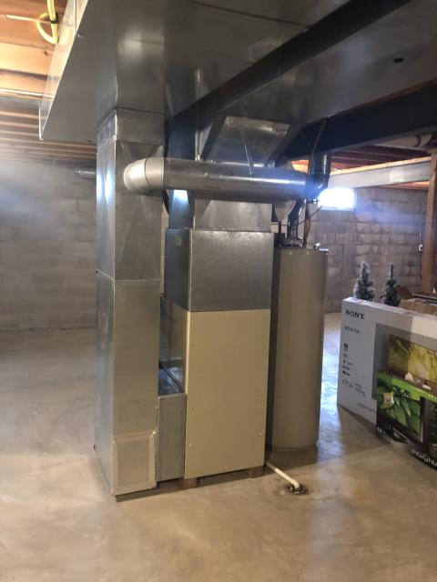 Columbus, OH - Upon arrival I completed a Half Install of a Five Star 96% Variable-Speed Two-Stage Gas Furnace (Up to 100,000 BTU). The system is full operational upon departure.