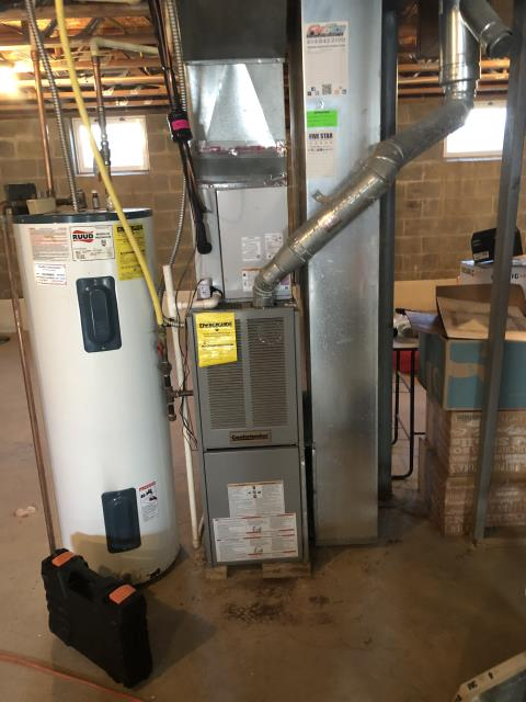 Reynoldsburg, OH - Upon arrival I completed a Furnace Tune-Up and Safety Check. The system is operational upon departure.