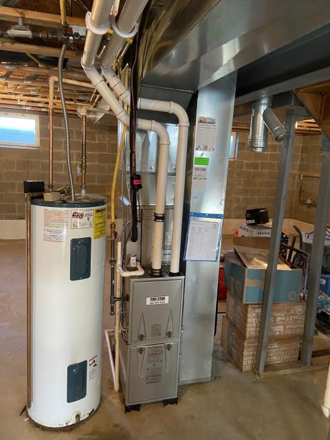"""Reynoldsburg, OH - I installed a Five Star 96% 2 Stage Variable Speed 60,000 BTU Gas Furnace 3.5T 14"""". I cycled and monitored the system and it is operational at this time."""