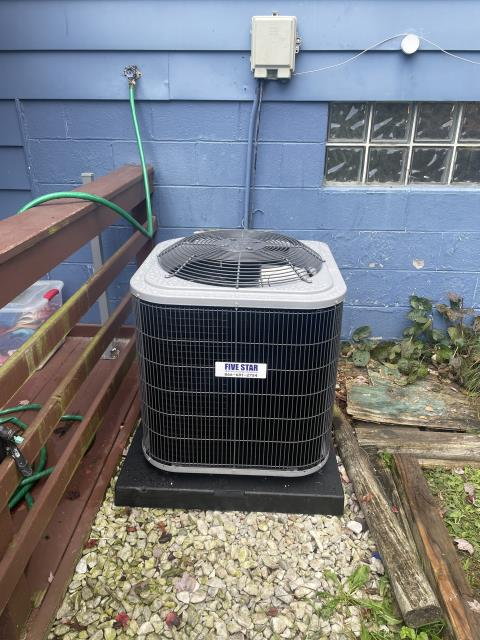 """Reynoldsburg, OH - I installed a Five Star 96% 60,000 BTU Gas Furnace 3T 14"""" and a Five Star 13 SEER 2.5 Ton Air Conditioner. I cycled and monitored both units and they are operating properly at this time."""