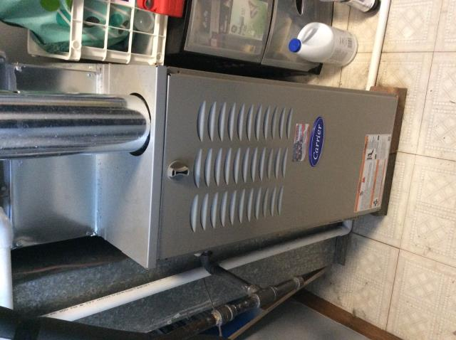Pataskala, OH - Carrier gas furnace tune up