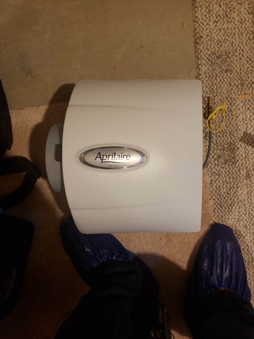 Lewis Center, OH - Humidifier install