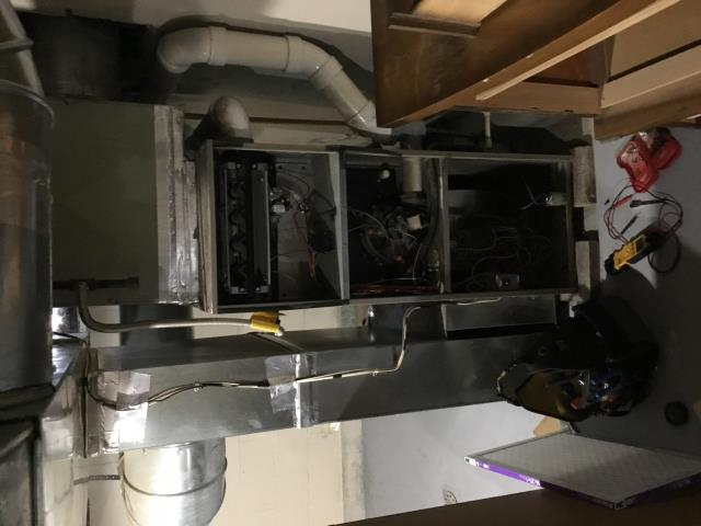 Lancaster, OH - Furnace blower motor is not turning fast.