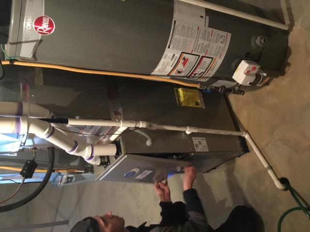 Pickerington, OH - Carrier furnace tuneup