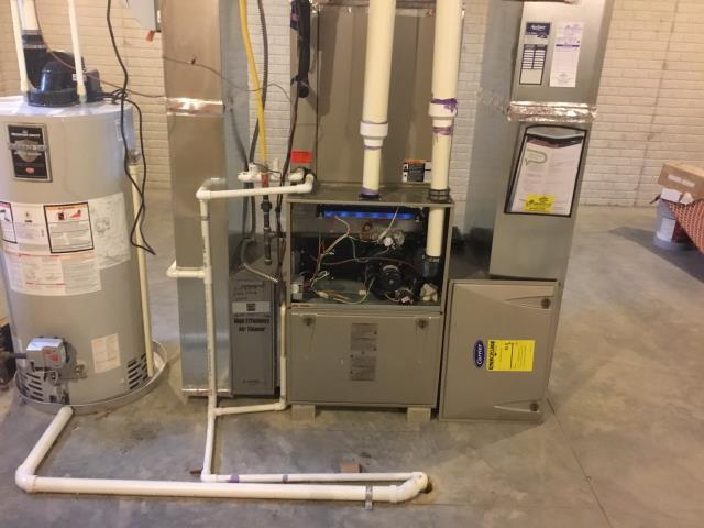 Dublin, OH - Carrier furnace back up and operational!
