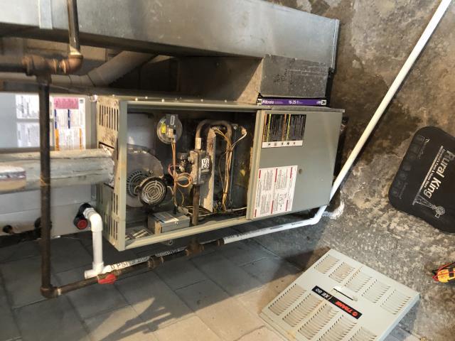 Trane furnace repair.