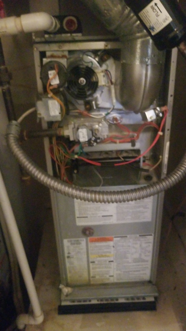 Westerville, OH - Replace high limit switch on Bryant gas furnace