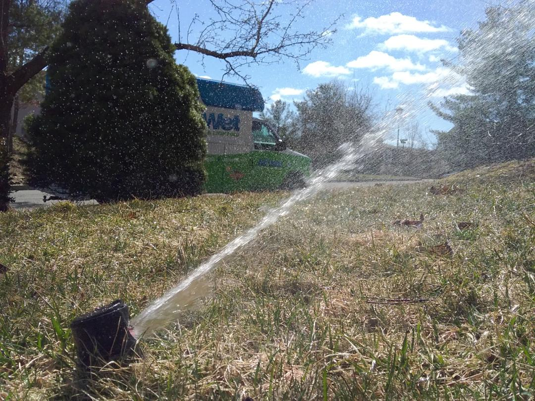Montclair, NJ - Turn on irrigation system