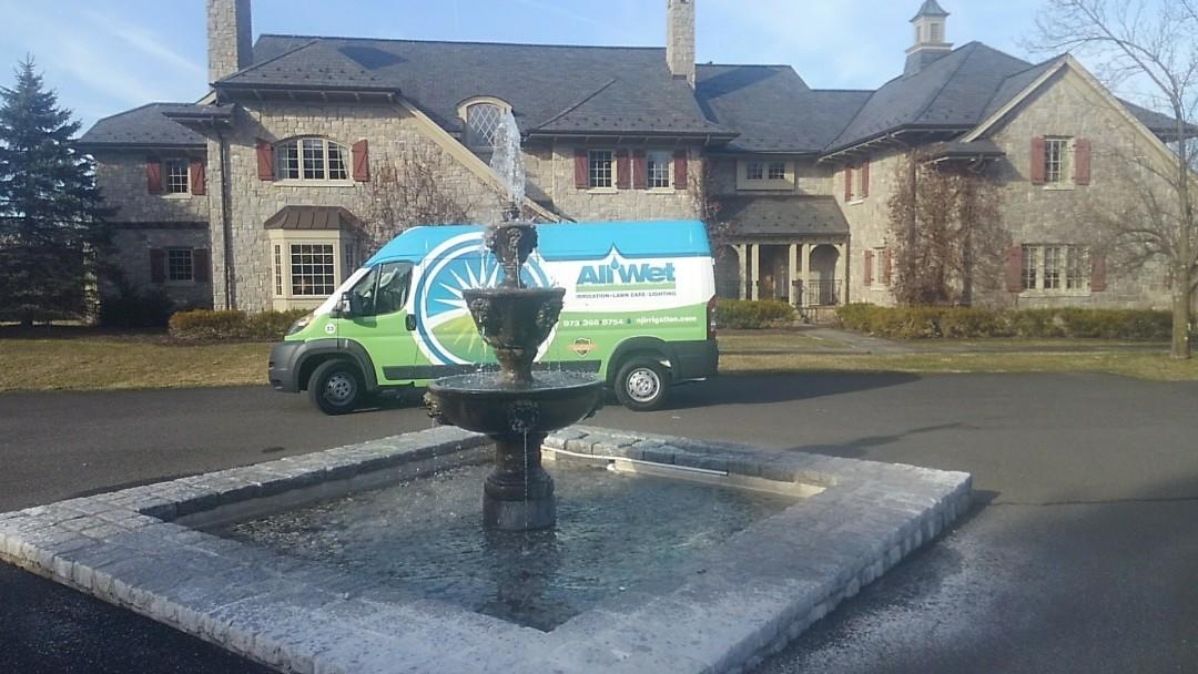Harding Township, NJ - Start up sprinkler system. Make necessary adjustments and measure property for fertilizer