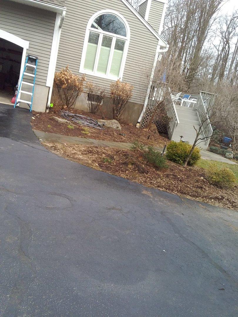 Chester, NJ - Moved lawn sprinkler