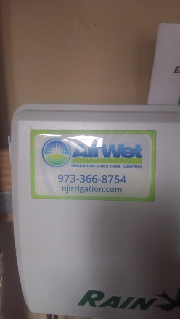 Chatham, NJ - Turn on sprinkler system for new customer. Make adjustments, and provide estimate for better coverage