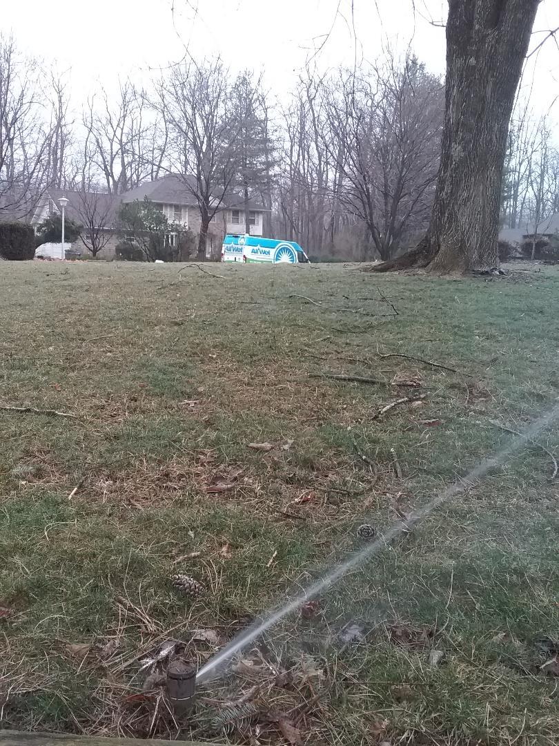 Morris Plains, NJ - Serviced sprinkler system!!! =)