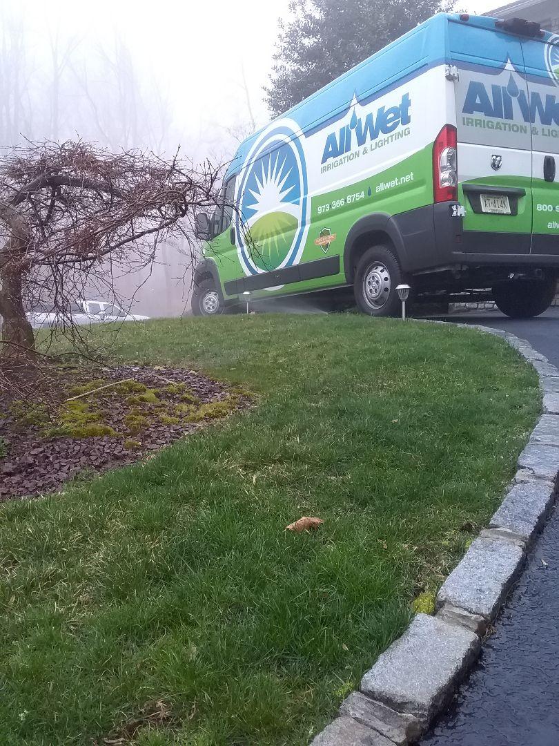 Morris Plains, NJ - Sprinkler system activation!!! =)