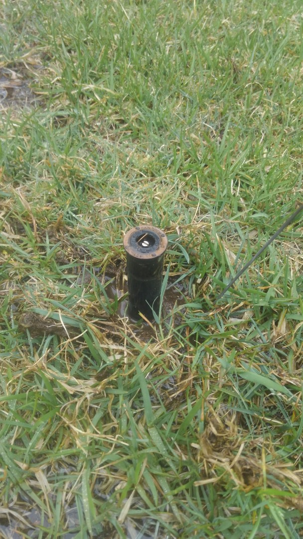 Totowa, NJ - Turn on sprinkler system. Replace heads and valve solenoid