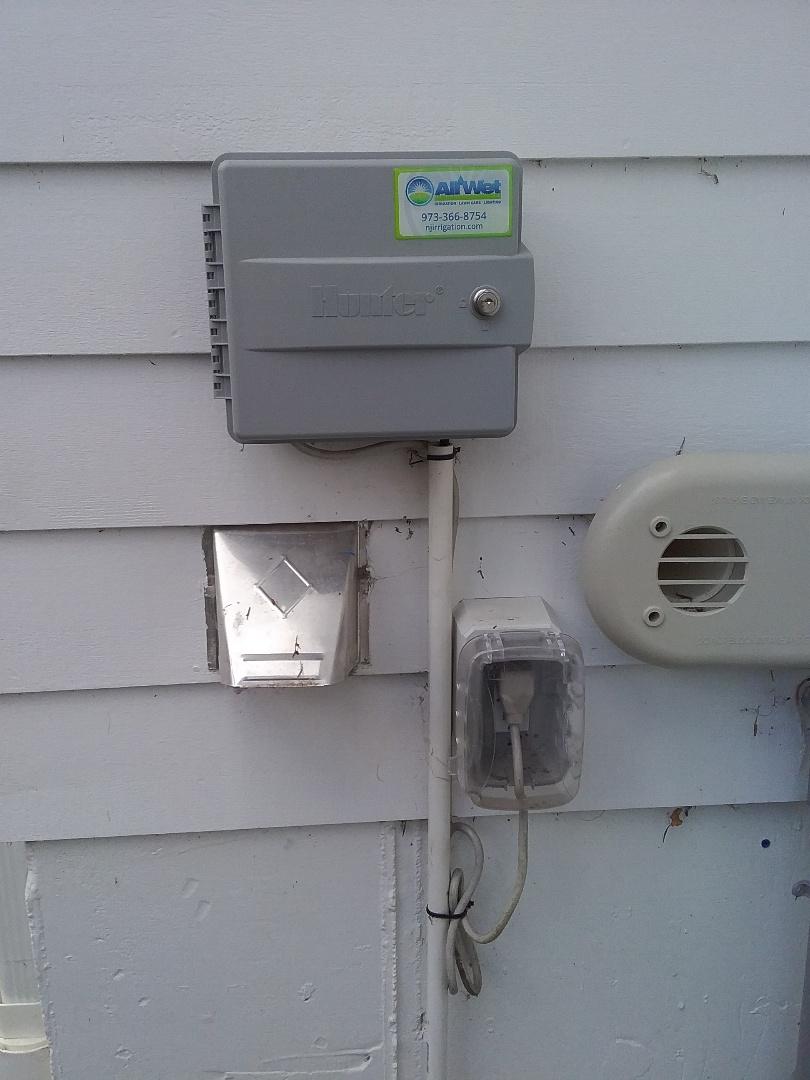 Chatham, NJ - Resetting sprinkler controls