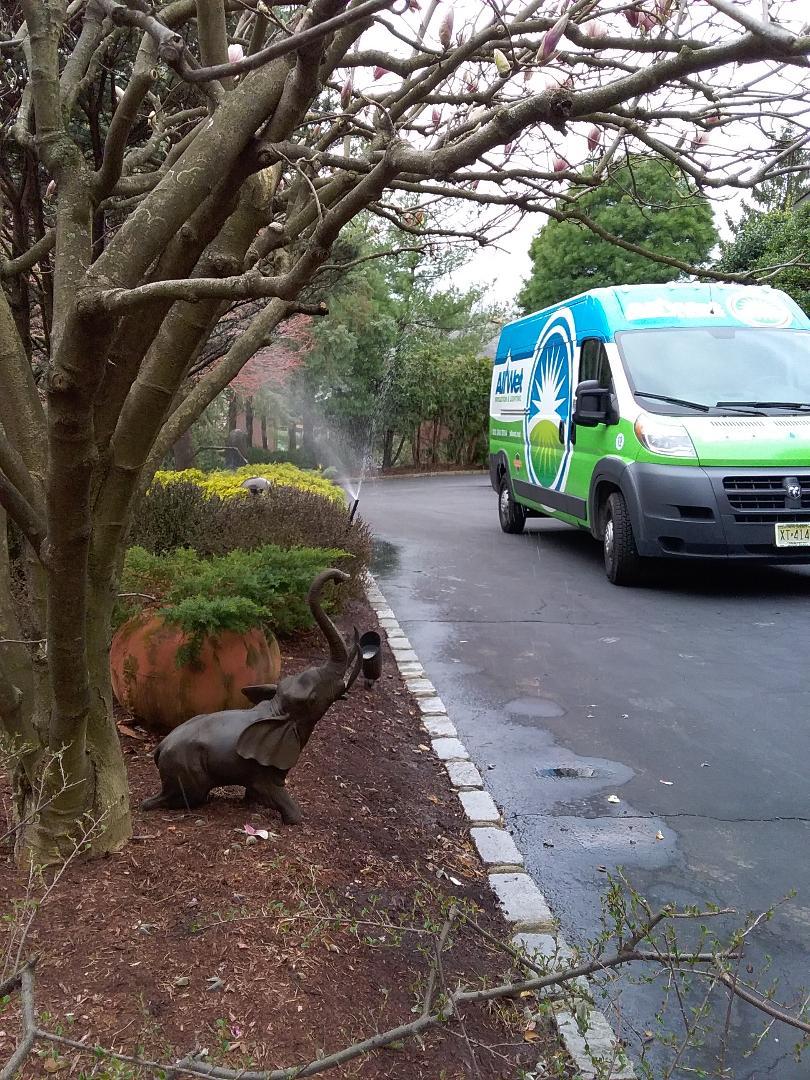 West Orange, NJ - Sprinkler system start up and service all in the same day!!! =)
