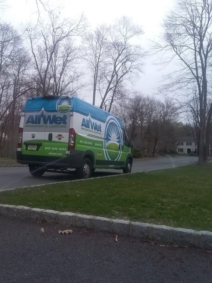 West Orange, NJ - Sprinkler system turn on!!! =]