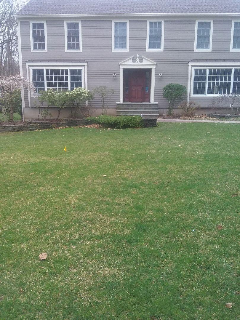 West Orange, NJ - Fertilization application; Lawn Care
