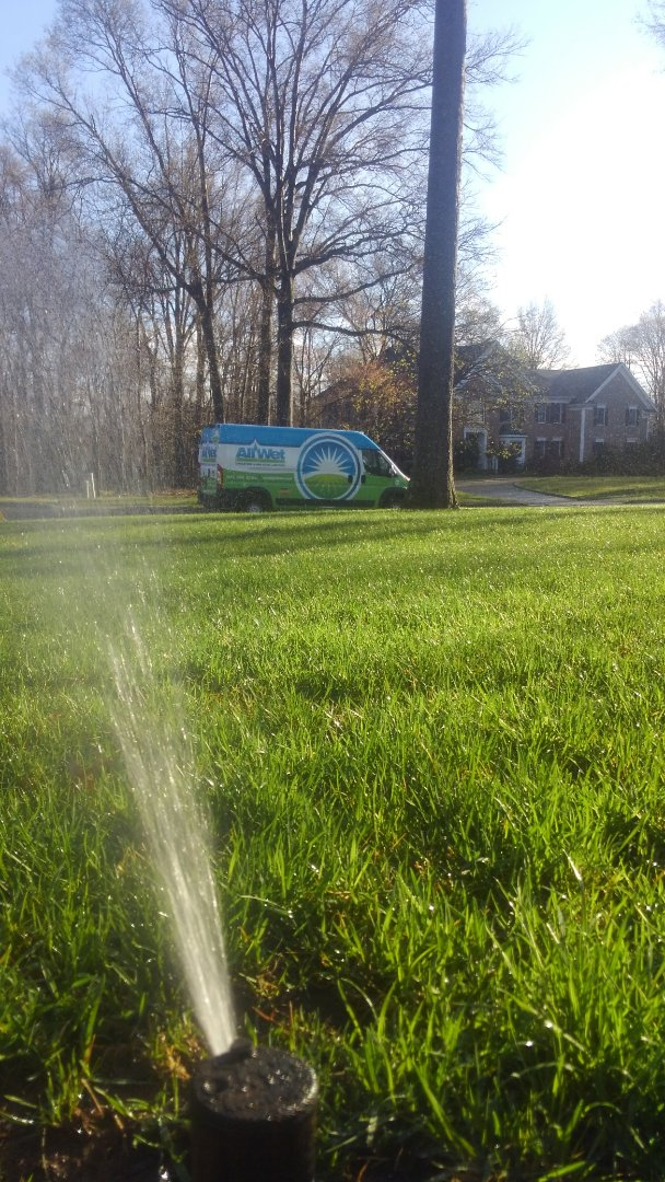 Bernards, NJ - Turn on irrigation system and replace leaking heads