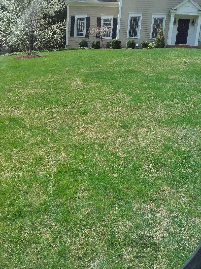 Gladstone, NJ - Fertilization, lime, and weed control applications in progress!