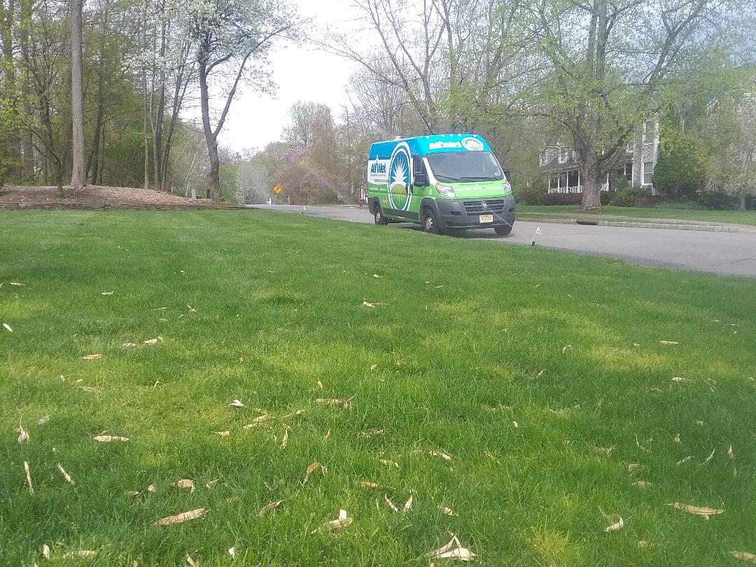Wharton, NJ - Sprinkler system being serviced!!!  =)