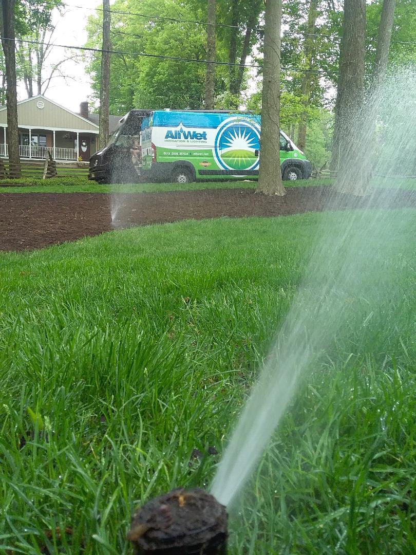 Mendham, NJ - Well designed sprinkler system start up!!! =)