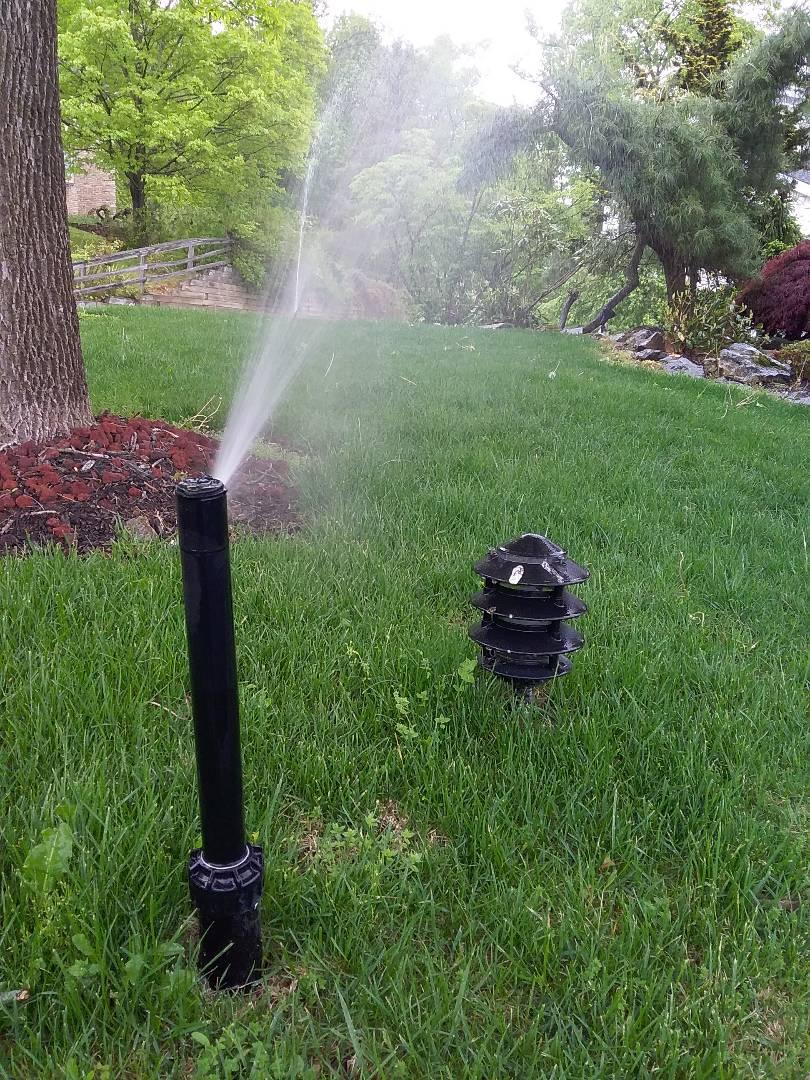 Morristown, NJ - Sprinkler system start up!!! =)