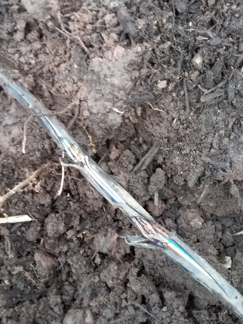 Maplewood, NJ - Repair irrigation wire connection