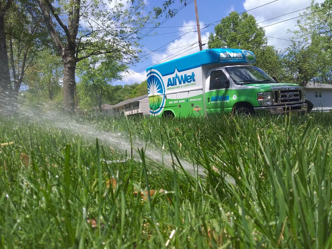 Roseland, NJ - Turn on the irrigation system
