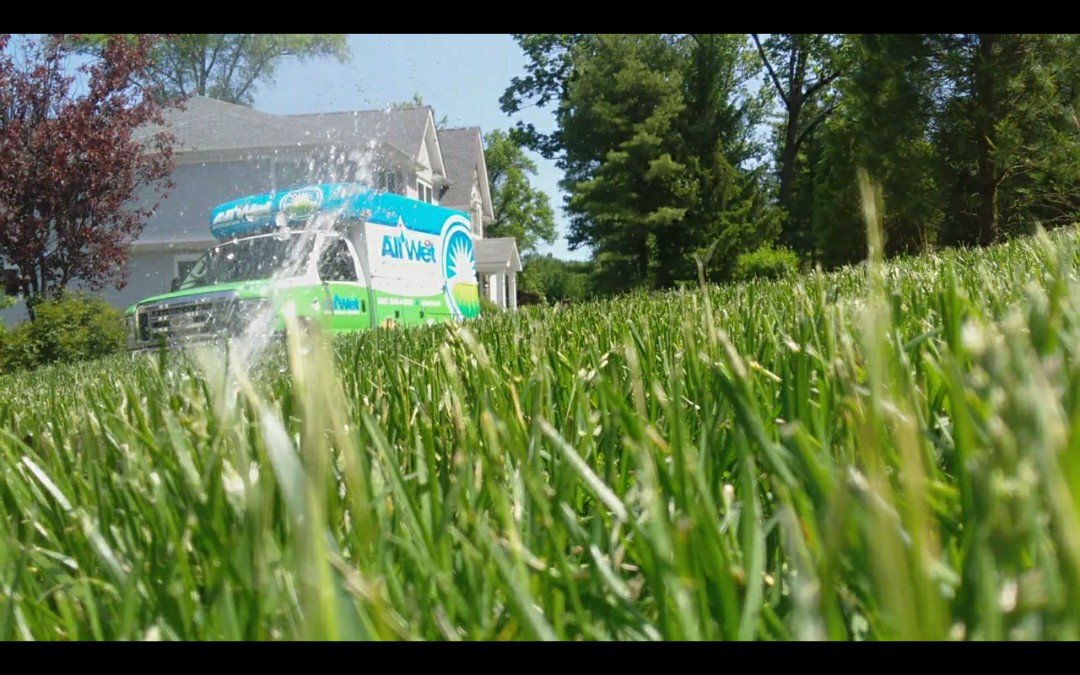 Livingston, NJ - Turn on the irrigation system