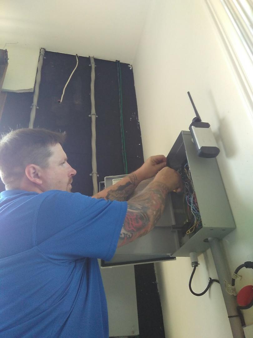 Install new rain sensor for irrigation system