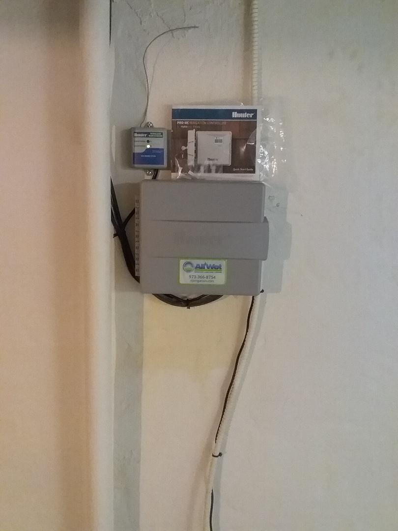 Glen Ridge, NJ - Sprinkler system water smart timer installation!!! =)