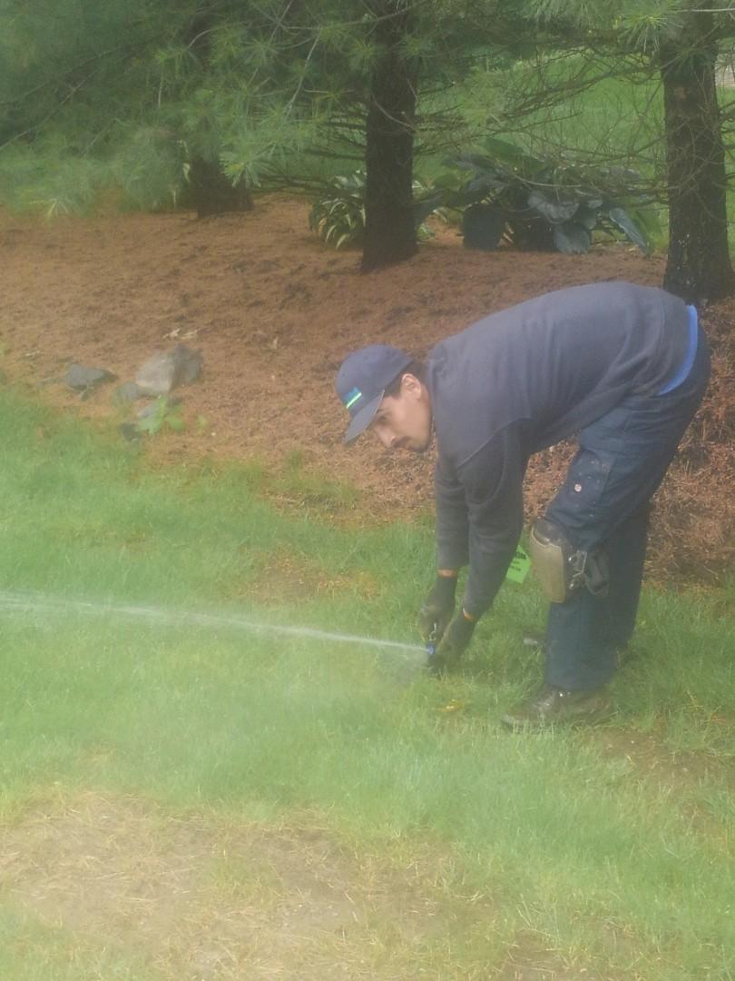 Bernardsville, NJ - Replace sprinkler heads and adjust system
