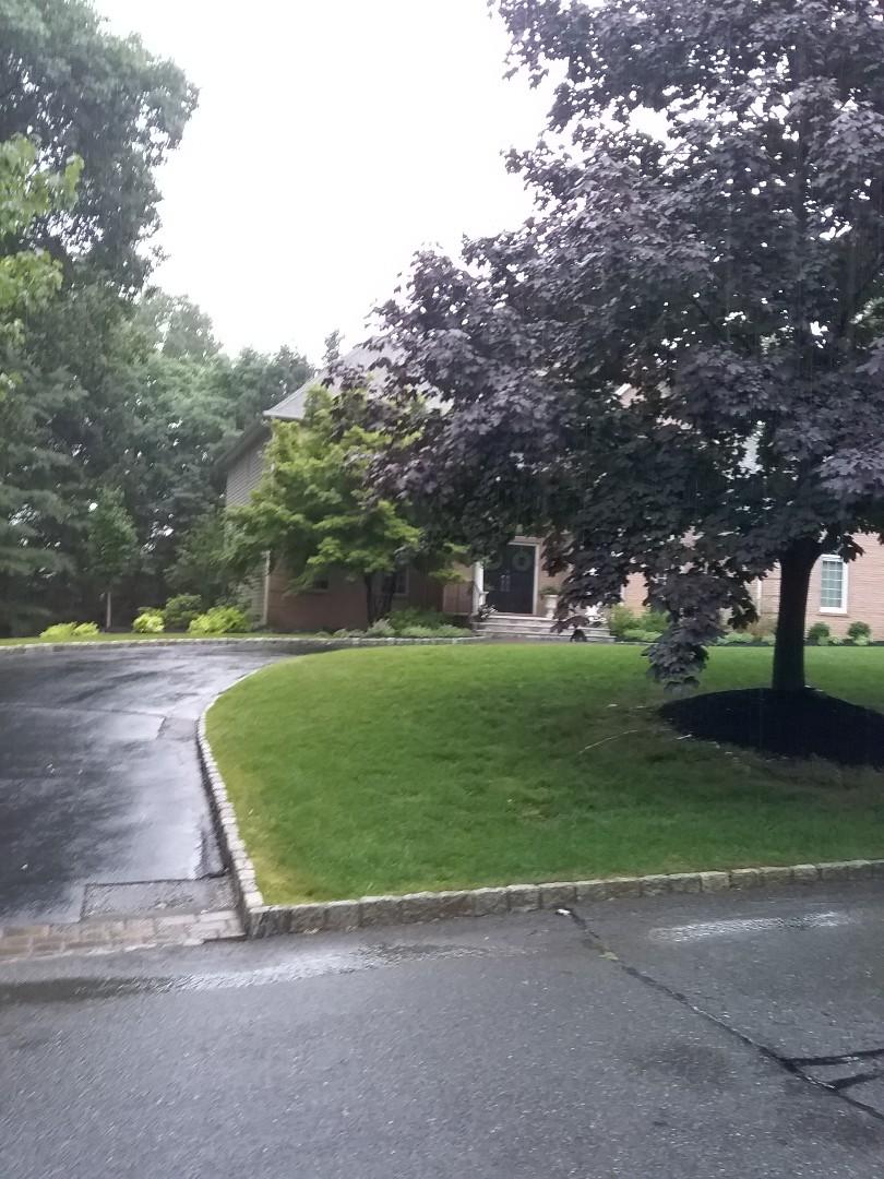 Randolph, NJ - Working in the rain