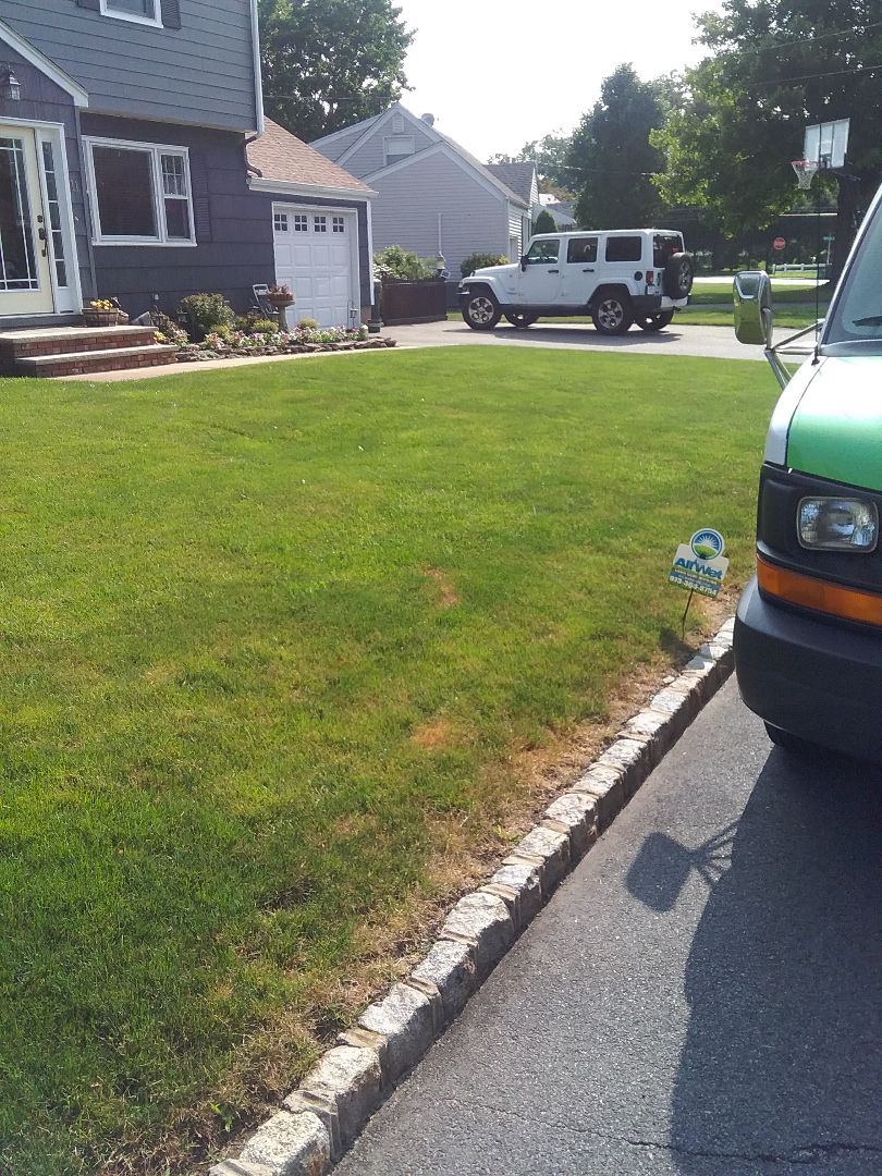 Morris Plains, NJ - Performed a mid season inspection Changed nozzles for proper covrage of turf