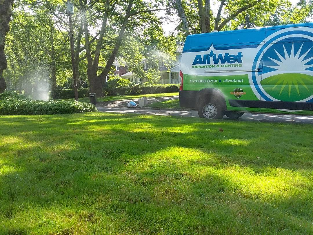 Livingston, NJ - Same day sprinkler system mid season tune up and service!!! =]