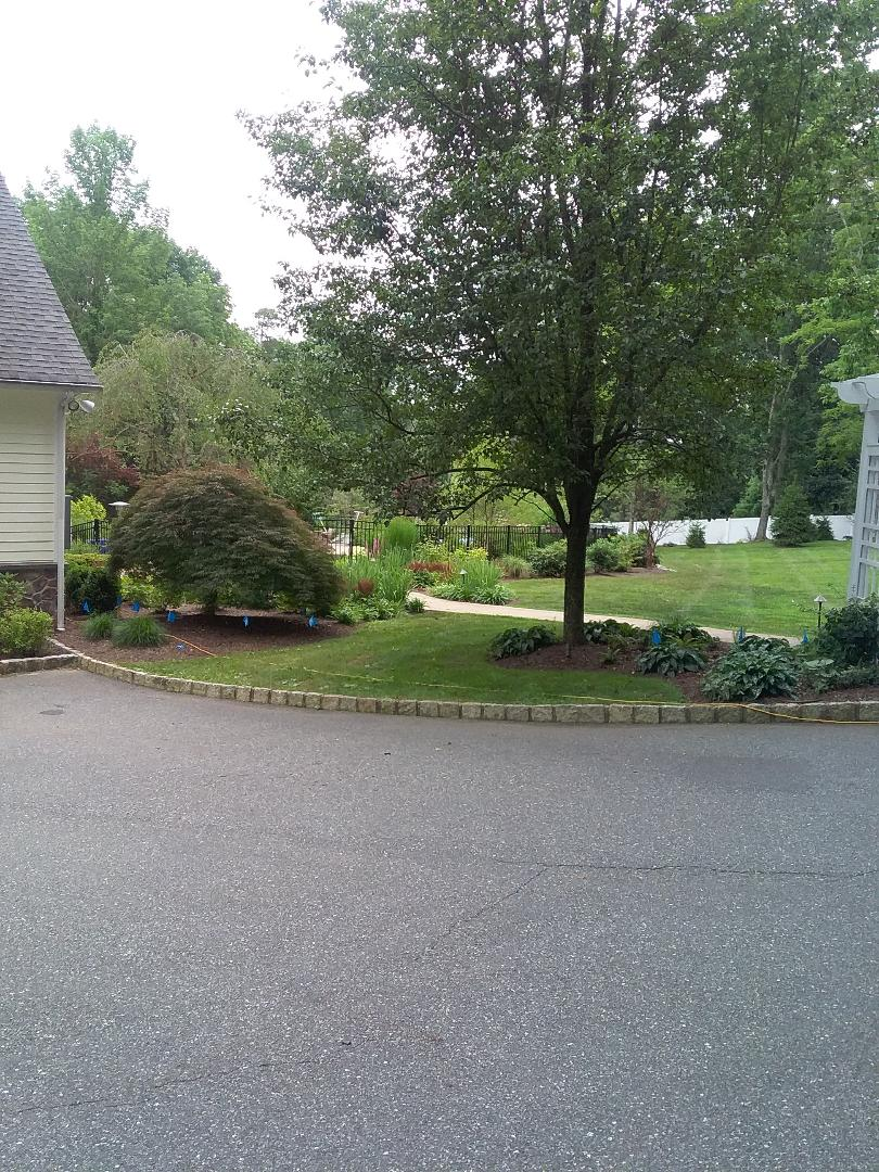 Chester, NJ - Repaird drip lines from under ground fence installation