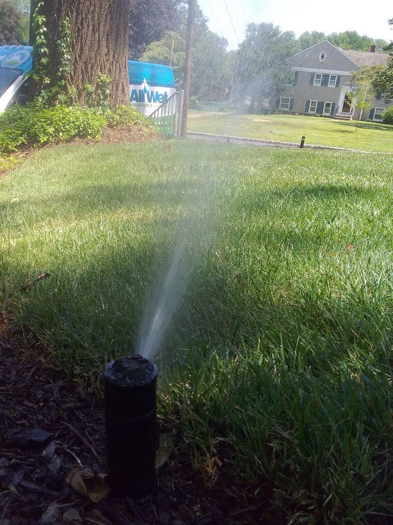 Chatham, NJ - Sprinkler system mid season tune up!!! =]