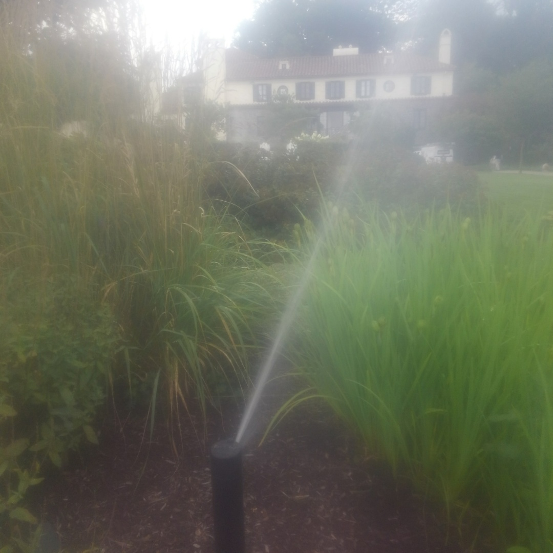 Tested sprinkler system for a mid season tune up