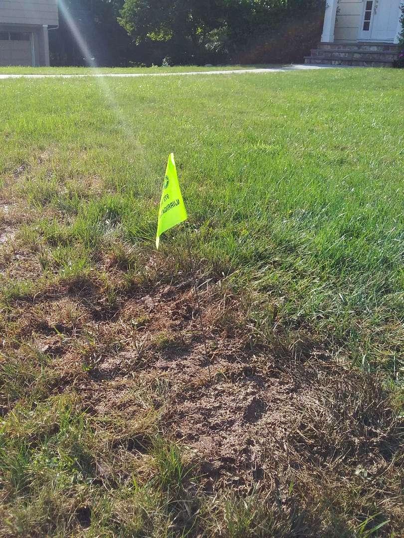 Summit, NJ - Poly break repair in the sprinkler system