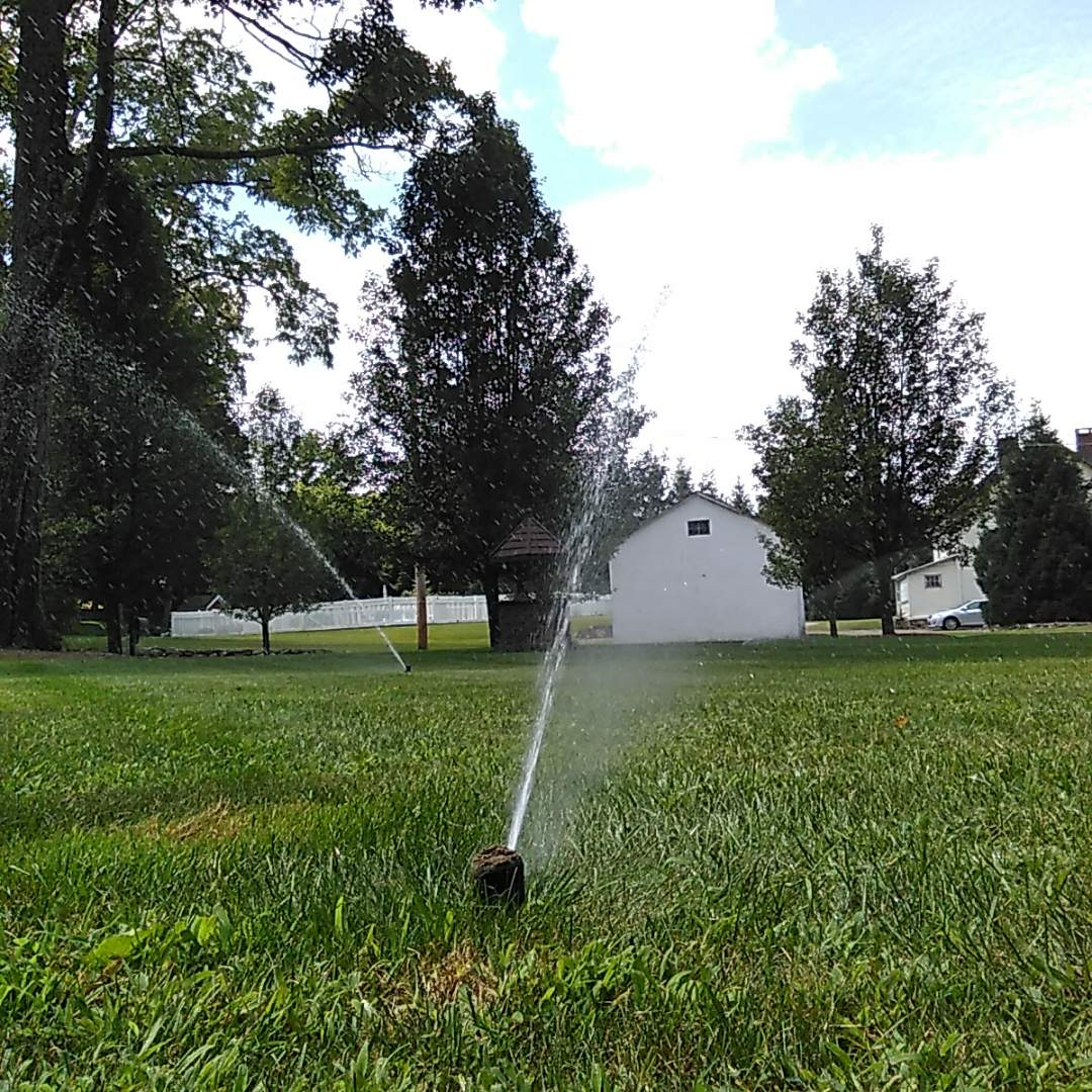 Sparta Township, NJ - Mid season tune up on sprinkler system. Set timer for summer conditions.