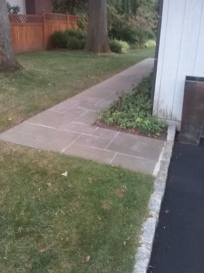 Repaired low voltage landscape lighting