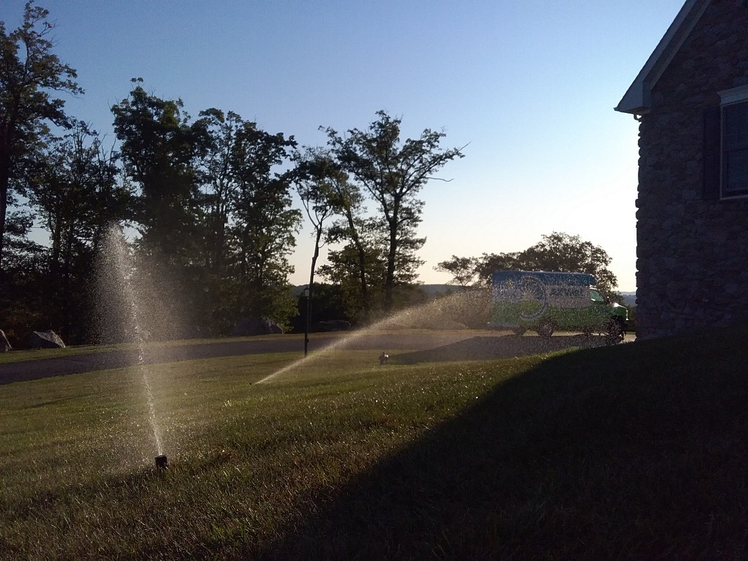 Winterization in the irrigation system