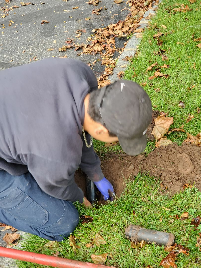 Repair irrigation heads that are leaking